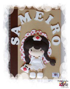 Caderno Decorado e Personalizado - Sameiro