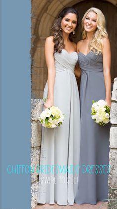 Hot Pink Bridesmaids, Purple Bridesmaid Dresses, Wedding Attire, Wedding Dresses, Chiffon, Designer Bridesmaid Dresses, Bride Dresses, Silk Fabric, Bridal Gowns