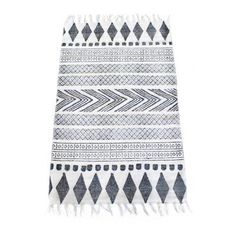 Block matta i gruppen Textil / Mattor / Bomull & Lin hos House Doctor, Scandinavian Interior, Home Living Room, Home Textile, Rugs On Carpet, Carpets, Interior Styling, Halle, Home Accessories