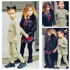 """181 Likes, 2 Comments - North West Official ™ (@_north.west_) on Instagram: """"Best friends #northwest #penelopedisick"""""""