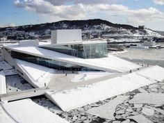 German Architecture, Amazing Architecture, Landscape Architecture, Architecture Design, University Architecture, Zaha Hadid, Santiago Calatrava, Oslo Opera House, Landscape Stairs