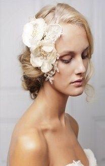 flor tela con cristales clásica