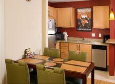 Residence Inn Ft. Myers Sanibel Hotel-2 Bedroom Suite Kitchen Area http://www.marriott.com/hotels/event-planning/travel/rswrs-residence-inn-fort-myers-sanibel/
