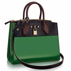 Introducing the Louis Vuitton City Steamer Bag
