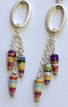 Hey, I found this really awesome Etsy listing at https://www.etsy.com/listing/163938139/paper-bead-earrings-graduated-shoulder