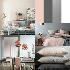 "41 Likes, 3 Comments - Dalal Burhamah (@dalal_burhamah) on Instagram: ""Grey..blush &copper..supercombo """