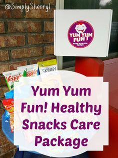 Yum Yum Fun Healthy Snacks Care Package