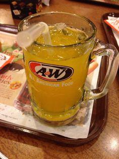 A&W、オレンジおかわりしほうだい⁉︎