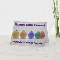 Holiday Cards, Christmas Cards, Merry Christmas, Christmas Ideas, Place Card Holders, Seasons, Ornaments, Color, Christian Christmas Cards