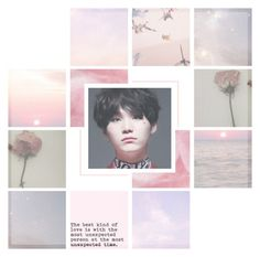 """""""🌸 ~ Wet // Jooyoung Feat. Superbee ~ 🌸"""" by xxjay-gxx ❤ liked on Polyvore featuring art, moodboard, bts, Suga, minyoongi and suga_bts"""