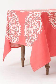 Mina Tablecloth #anthropologie