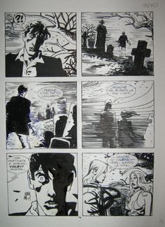 Dylan Dog Mari #123 Phoenix Comic Art