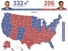 Justin's Political Corner | FINAL EC Count: 332-206, Obama/Biden (D).