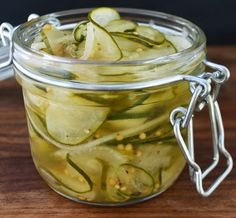 Bread & Butter Pickles #recipe