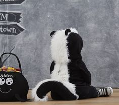 Baby Skunk Costume In 2019 Baby Skunk Costume Cute Baby