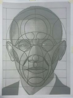 Reilly method practise with a photo of president Obama. Drawing Heads, Painting & Drawing, Drawing Skills, Drawing Techniques, Cartoon Drawings, Art Drawings, Planes Of The Face, Geometric Drawing, Anatomy Drawing
