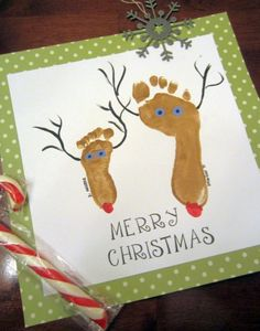 This is a fun craft to do with your kids for Christmas!