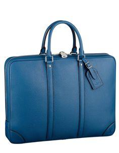 Louis Vuitton briefcase.