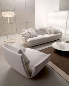 Contemporary & modern furniture for the home and garden. Modern Furniture, Furniture Design, Sofa, Couch, Classic White, Floor Chair, Accent Chairs, Home And Garden, Interior Design