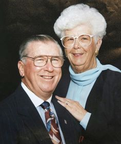 After 73 years of marriage, high school sweethearts Doug Wilson, 93, and Lillian Kerr Wilson, 89, passed away just two minutes apart from each other this week