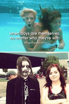 When Boys Are Themselves