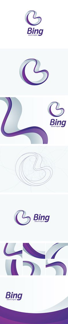BING by Cheltsov Kirill, via Behance