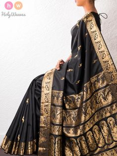 Handwoven Silk Baluchari Saree