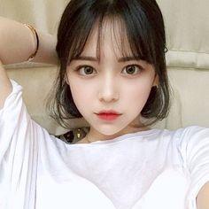 Ulzzang Hair, Ulzzang Korean Girl, Cute Korean Girl, Easy Hairstyles For Kids, Girl Hairstyles, Simple Hairstyles, Korean Short Hair, Prity Girl, Uzzlang Girl