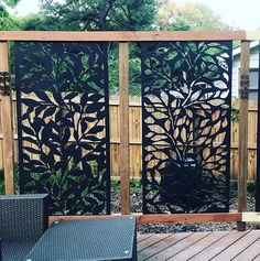 great backyard privacy fence design ideas to get inspired 52 Deck With Pergola, Backyard Pergola, Backyard Landscaping, Pergola Kits, Pergola Ideas, Fence Ideas, Modern Pergola, Pergola Canopy, Pergola Roof
