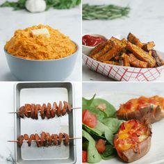 Sweet Potato 4 Ways by Tasty
