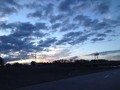 Gorgeous sky outside of Atlanta. Heading home to Nashville. Thanks, Florida friends! See you next year!