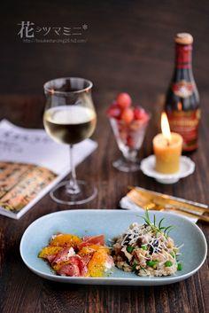 キノコとファッロのマリネ - Mushroom and Farro marinade.
