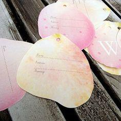 ROSE PATAL GUEST BOOK ばらのはなびら芳名帳・ゲストブック