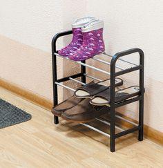 Suportul pentru pantofi cu 3 rafturi este usor, dar robust, fiind practic si mobil, putand fi mutat