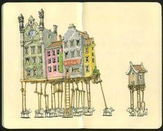 AAF de Artes, de Arquitetura, de Fotografia. E mais ideias...: Moleskine Art
