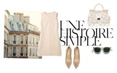 """""""simply perfect"""" by mrs-de-winter-now ❤ liked on Polyvore featuring Une, Shabby Chic, Club Monaco, Dolce&Gabbana, Kurt Geiger and Camilla Skovgaard"""