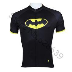 bfda93260 Hot sale 2014 Superheroes Batman Mens short Sleeve cycling jerseys bike  clothing Rider Apparel S-