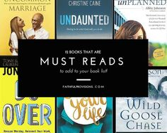My Top 12 Must Read Books so far this summer that you must add to your reading list!