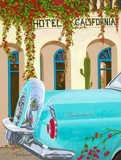 Take the 45 minute drive to Todos Santos, Baja California, Mexico and visit Hotel California!