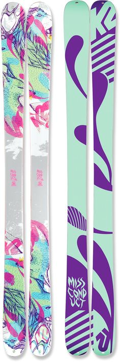 K2 MissConduct Skis - Women's - 2011/2012 at REI.com
