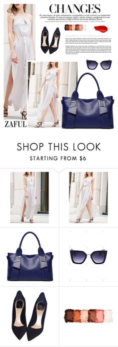 """Zaful 26"" by sabinakopic ❤ liked on Polyvore featuring Christian Dior, NYX, Urban Decay, bestylish, zaful and lovezaful"