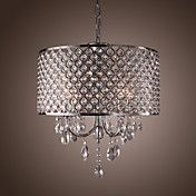 Modern 4 - Light Pendant Lights with Crystal ... – USD $ 199.99