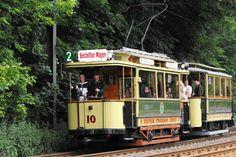 Historische Straßenbahn in Berlin-Köpenick/Grünau