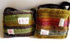 crocheted bag. believe. wish. yes.