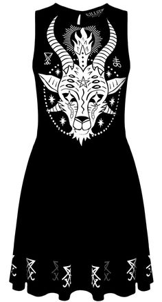 Killstar Goat Skater Dress | Blame Betty