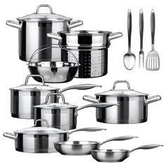 Duxtop Professional Induction Ready Cookware Set