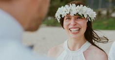 la manina : sunrise wedding @ waimanalo beach  deutschsprachige Hochzeitsplanung in Hawaii  pics by Chelsea Abril Photography http://www.chelseaabril.com