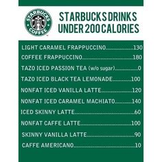 A friend sent this to me today - going to have to try an Americano - what's your favorite healthy drink from #starbucks ?