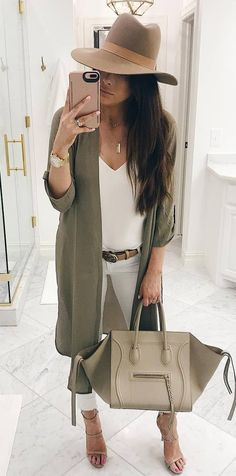 cute casual style outfit idea