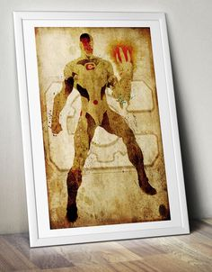 Cyborg (The Tech-Titan) Minimalist Posters- Homage to DC Comic's Cyborg by MaJiKartwork on Etsy https://www.etsy.com/listing/250115370/cyborg-the-tech-titan-minimalist-posters